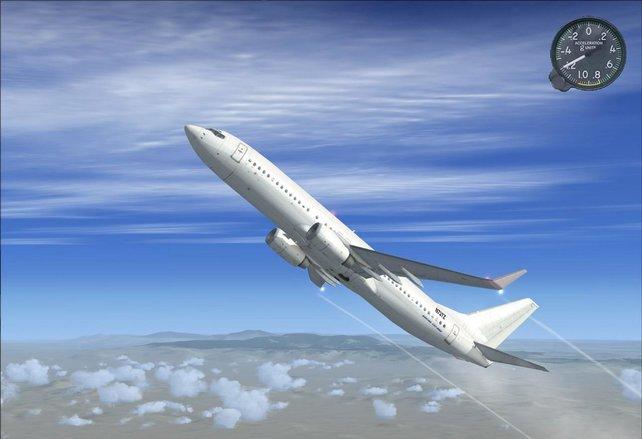Der Flight Simulator X - Für alle, die hoch hinaus wollen.