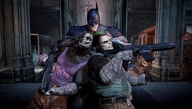 Rund doppelt so viele Bewegungen und Angriffe hat Batman nun drauf.