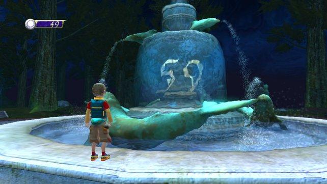 Will steht am Eingang des Dreamgates vor seinem großen Abenteuer