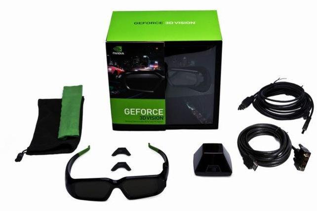 Das komplette 3D-Vision-Paket von Nvidia.