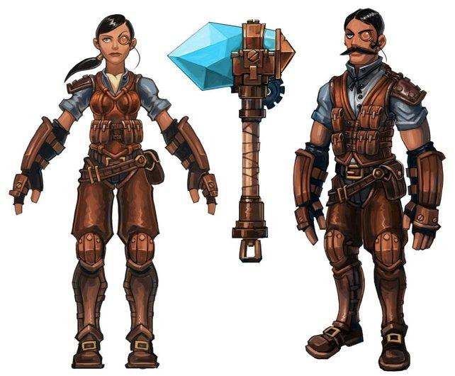Der Railman ist eine von vier Charakterklassen.