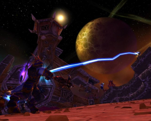 World of Warcraft kann auch düster sein. Allerdings ändert das nichts an der veralteten Grafik.