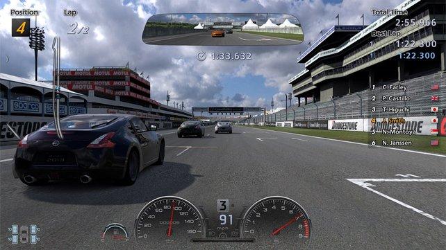 Die PS3 ist noch nicht tot und beweist mit Gran Turismo 6, was sie noch drauf hat.