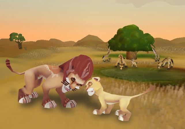 Bei Löwen müsst ihr vorsichtig sein, ansonsten kann es passieren, dass sie euere besten Freunde auffressen.