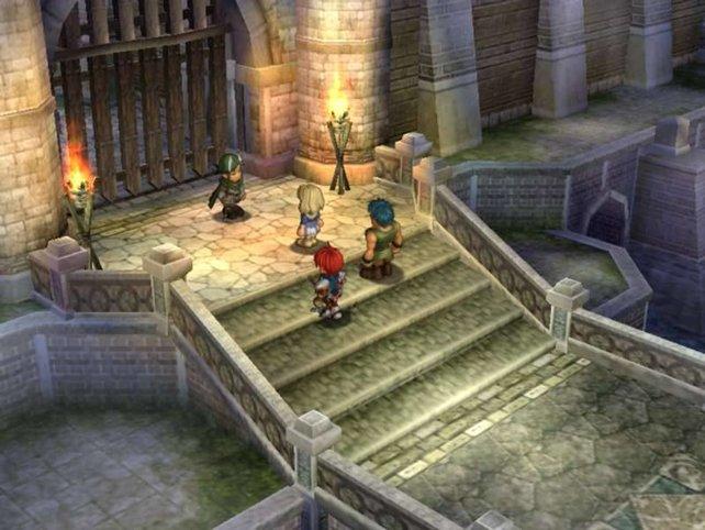 Optisch ähnelt The Oath of Felghana Rollenspielen wie Tales of Phantasia.