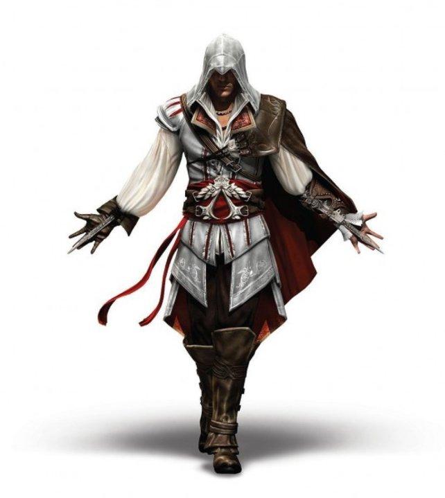 Der Hauptcharakter Ezio hat äußerlich viel von Altair.