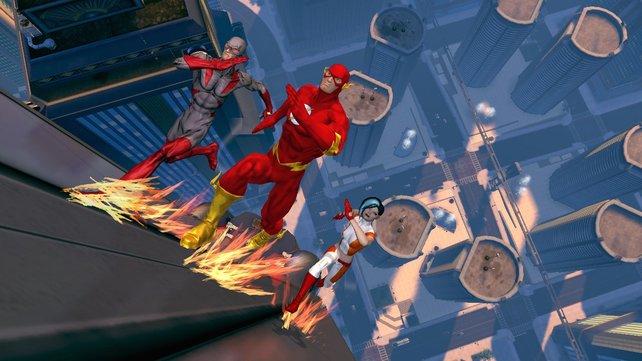 Die Wahl der Reisefähigkeit ermöglicht euch, so schnell zu rennen wie Superheld Flash.