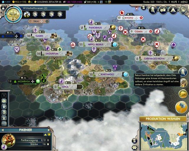 Karthago ist eines der neuen Völker in Gods & Kings.