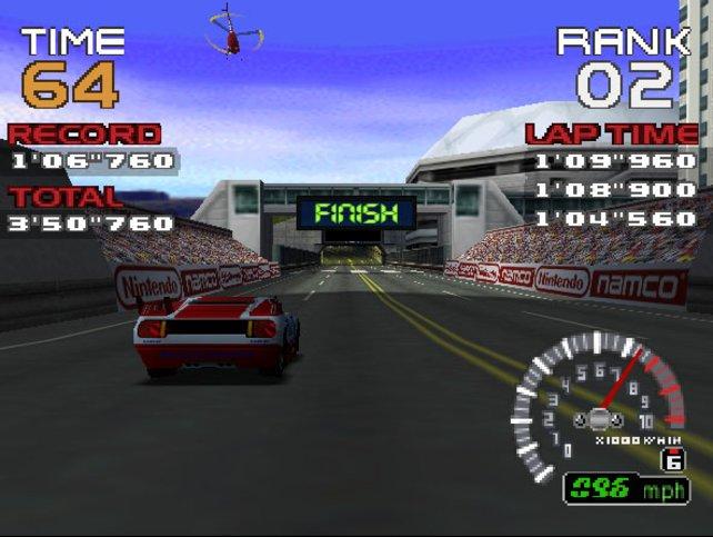 Alle Ridge-Racer-Zutaten stecken auch in der N64-Version.