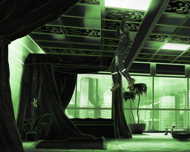 Neo: In der Matrix aufgehangen