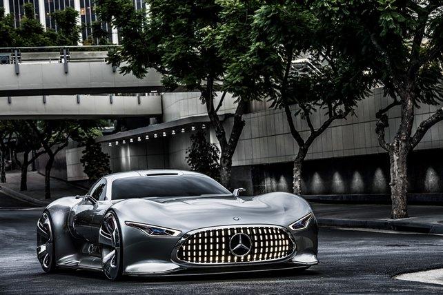"""im Menüpunkt """"Vision Gran Turismo"""" stellen Autohersteller spektakuläre Konzeptwagen vor."""