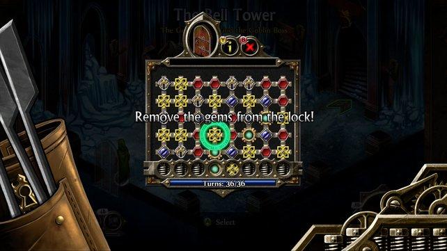 Schlösser werden per Minispiel geknackt. (Screenshot XBox360)