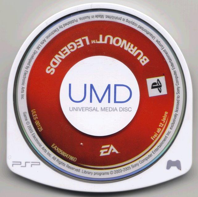 Die UMD - Ein Bastard aus DVD und Diskette.