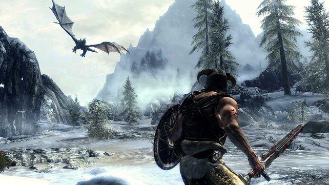 Die Drachenkämpfe sind spektakulär. Blöd nur, dass die Drachen scheinbar willkürlich angreifen.