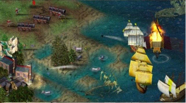 Mit Kanonen gegen Schiffe