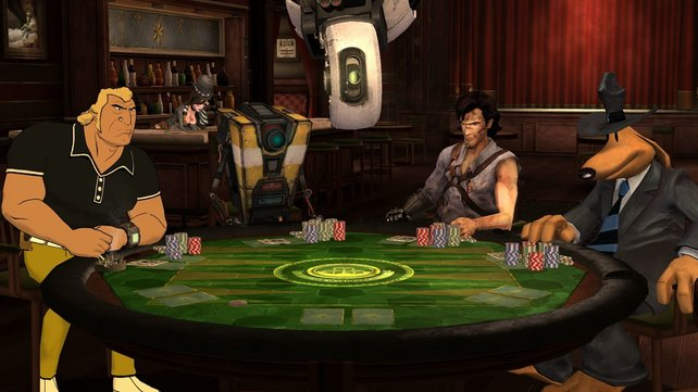 Das ist mal echte Poker-Prominenz .
