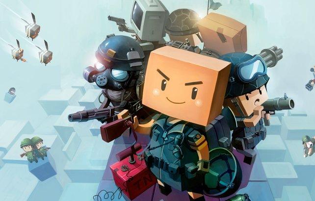In Brick-Force balgt ihr euch mit anderen Spielen auf selbst erstellten Karten.