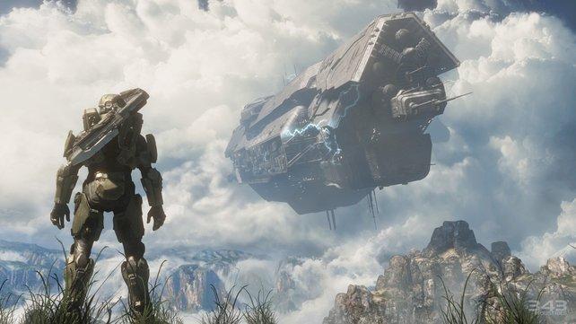 Große Ereignisse werfen in Halo 4 ihre Schatten voraus.