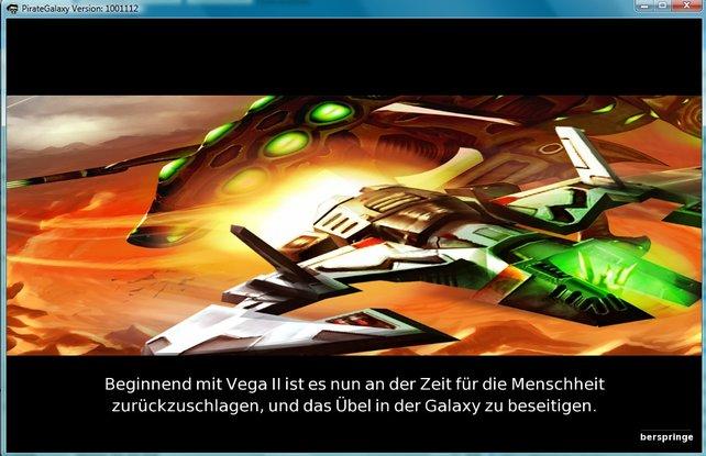 Auf Vega II warten eine Menge Feinde. Diese zu beseitigen, ist das Ziel des Spiels!