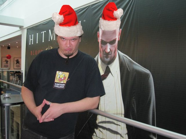 Ho ho ho! Der Nikolaus und Knecht Ruprecht hatten die Schnauze voll.