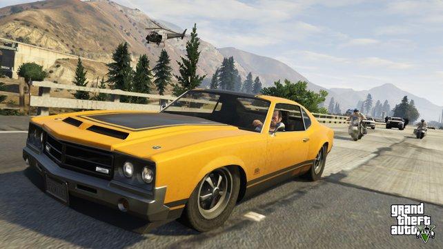 Rockstar hat die Fahrphysik in GTA 5 stark überarbeitet.