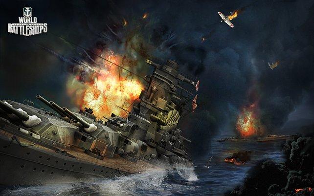 In World of Warships erwarten euch viele taktische Schlachten.