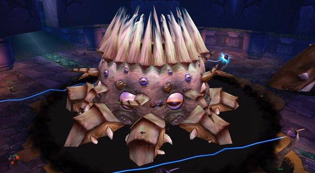 Das Gefecht gegen C´Thun gehört zu den schwierigsten Boss-Kämpfen in der Geschichte von World of Warcraft.
