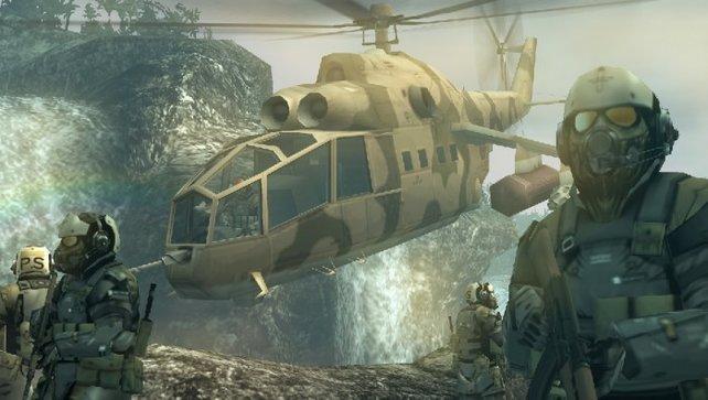 Auch wieder dabei: fliegende Einheiten.