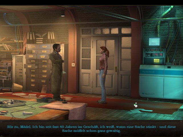 Die Dialoge sind auch auf der Wii klasse synchronisiert
