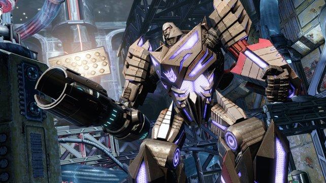 Decepticon-Führer Megatron (im Bild) wird von Starscream abgelöst.