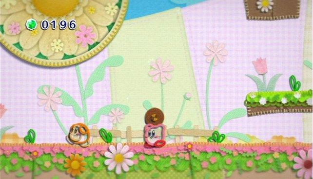 In Kirbys neuestem Abenteuer ist alles aus Wolle... selbst Kirby.