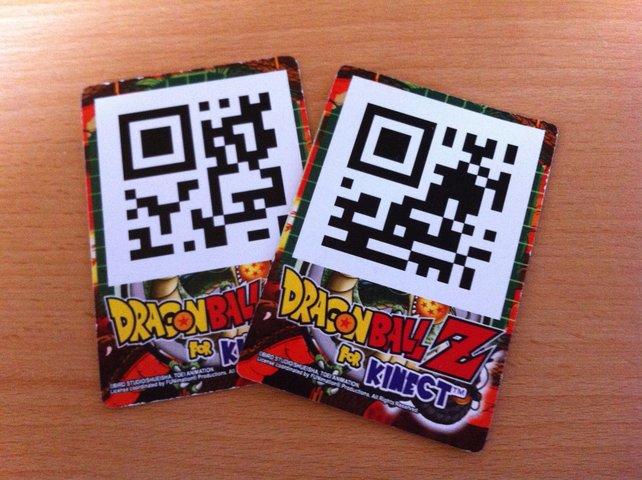 So sehen die QR-Karten aus.
