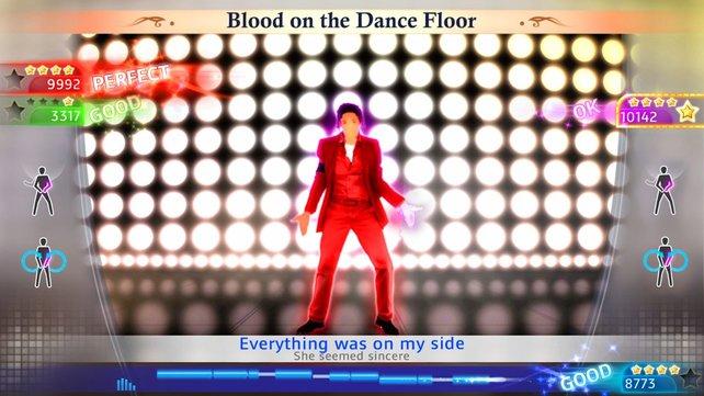 Michael Jackson lädt zum Tanz ein.
