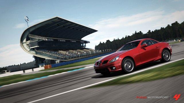 Forza 4 verspricht eine neue Fahrdynamik vor hübschen Kulissen.