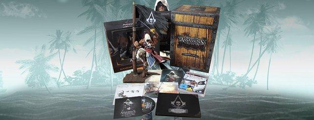 "Assassin's Creed 4 - Black Flag: Onkel Jo packt die ""Buccaneer Edition"" aus"