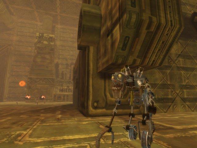 Huch, kein Ork? Nee, ein Maschinen-Skelett-Monster, yeah!