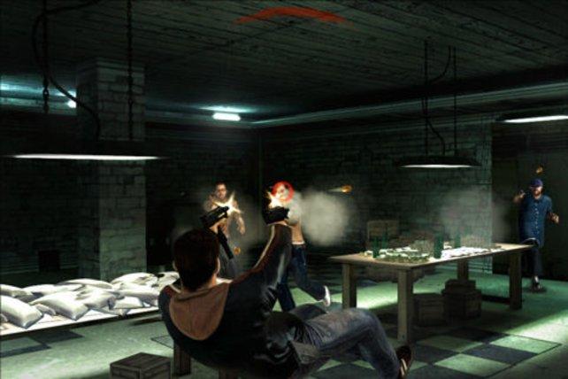 Max Payne lässt grüßen.