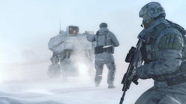 Die Geschichte des Spiels findet auf ger ganzen Welt statt - auch in bitterkalten Regionen.