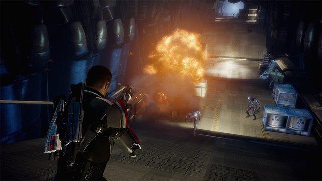 Mass Effect 2 bietet schweres Geschütz mit ordentlich Wummes!