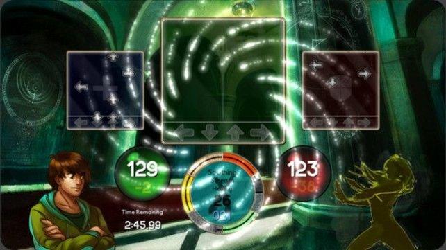 Rollenspiel trifft auf Rhytmus-Action - ein ebenso ungewöhnlicher wie fesselnder Mix.