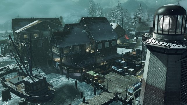 Deutlich größer und verwinkelter als die typische Call-of-Duty-Karte: Whiteout.