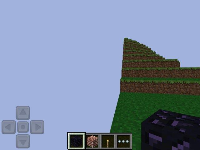 Test IPhone Minecraft Pocket Test Steuerung Fakten Und Meinung - Minecraft spiele fur handy