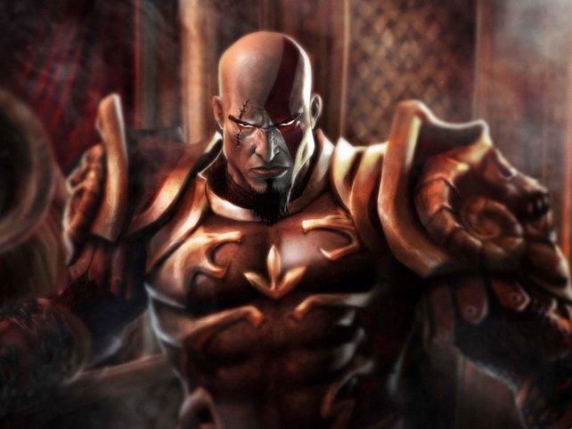 Haben wir eigentlich schon erwähnt, dass Kratos ganz schön stinkig ist?