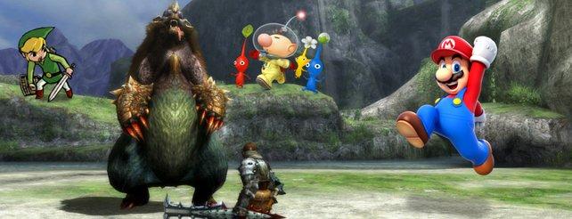 Link, Pikmin, Mario und viele mehr. Nintendos Wii U bietet exklusiven Marken ein Zuhause.