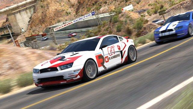 Trackmania 2: Canyon glänzt mit HD-Grafik.