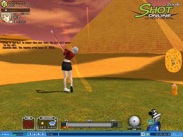 Unsere Theorie zur Sphinxnase beinhaltet Golfbälle...