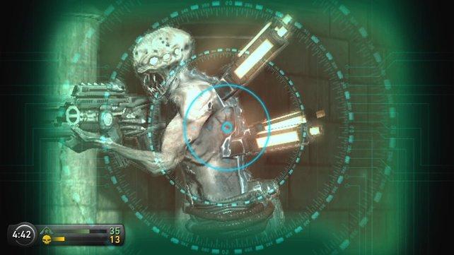 Resistance - Burning Skies ist der erste Ego-Shooter für die PS Vita.