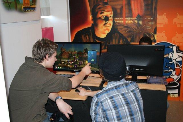 Bis zum 18. April könnt ihr im Computerspielemuseum mit Crazy Machines Elements tüfteln.