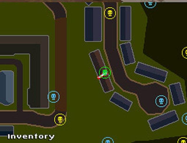 Die Kartendarstellung der Areale ist eher dürftig