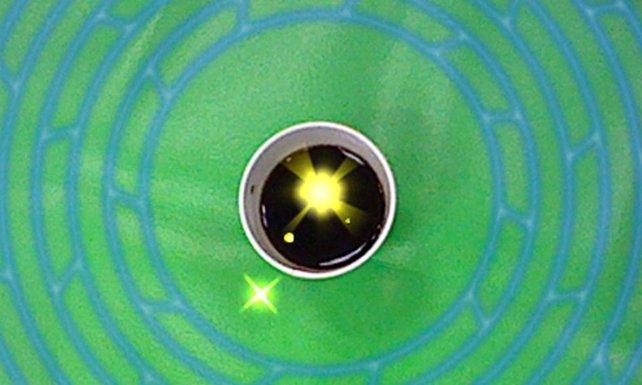 Die Kamera des 3DS erkennt runde Objekte und generiert daraus Dungeons.